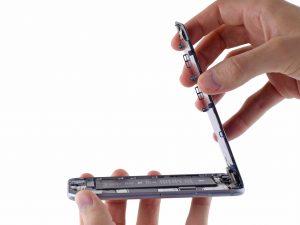 iPhone 6 kijelző csere a kijelző felhajtása maximum 90 fokig