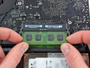 MacBook szerviz Buda: MacBook RAM bővítés