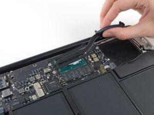 MacBook szerviz Buda: MacBook hűtőborda csere