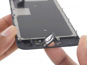 iPhone 6S kijelző csere, a home gomb kivétele