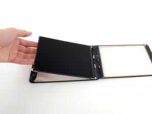iPad mini érintőüveg csere, LCD kijelző kivétele a tabletből