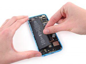 iPhone akkumulátor csere, iPhone 5C akkumulátor csere