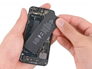 iPhone akkumulátor csere, iPhone 5 akkumulátor csere