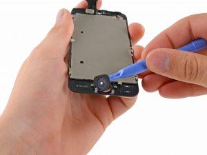 iPhone 5 kijelző csere, a home gomb eltávolítása