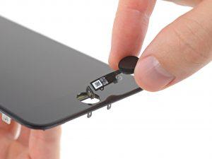 iphone 7 Plus kijelző csere, home gomb kivétele
